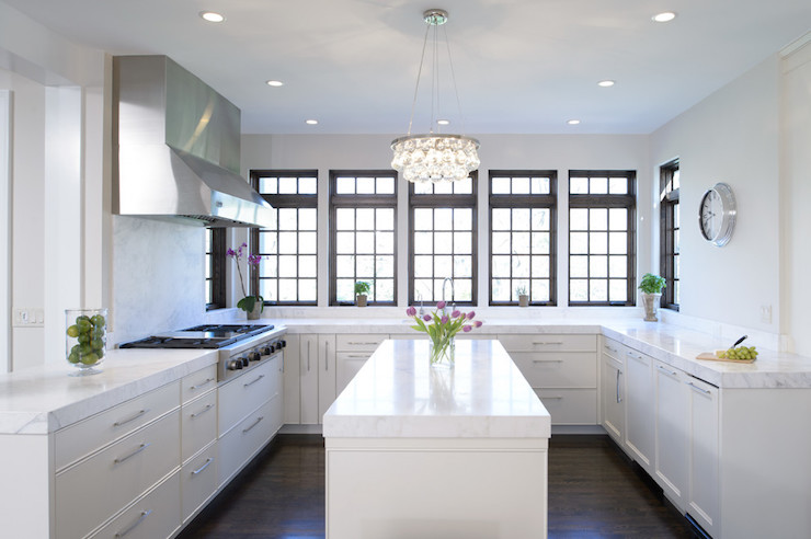 U Shaped Kitchen Design With Island U Shaped Kitchen Design - Contemporary - Kitchen - Kitchen