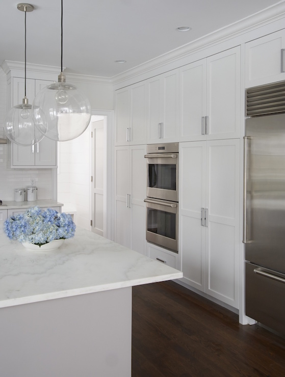 beautiful kitchen features wall floor ceiling pantry cabinets dark gray kitchen designed talented atlanta based kitchen