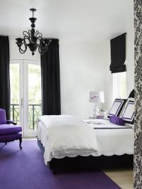 Black White And Purple Bedroom | www.pixshark.com - Images ...
