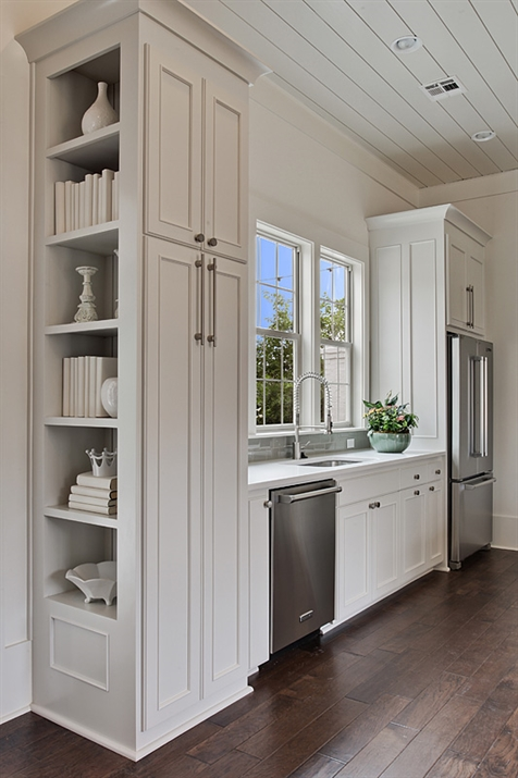 Paint Kitchen Cabinet Hardware Silver Built In Cookbook Shelves Design Ideas