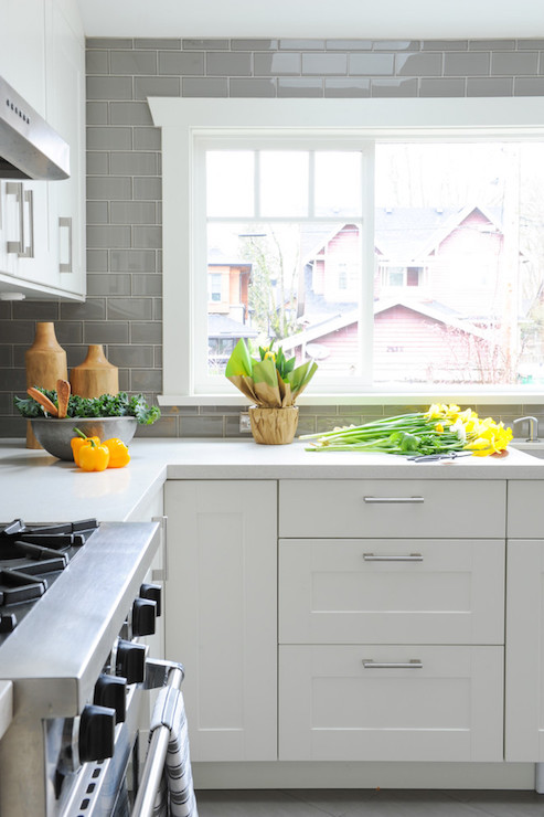 grey kitchen backsplash grey subway tiles white cabinets grey backsplash kitchen subway tile outlet