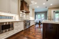 Kitchen with Window Backsplash - Transitional - Kitchen