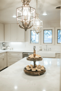 White French Chandeliers - French - Kitchen
