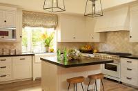 Cream Shaker Cabinets Design Ideas
