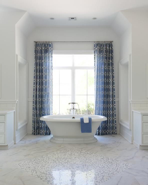 Black And White Marble Wallpaper Shiplap Bathroom Niche Design Ideas