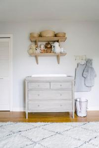Nursery with French Changing Table - Transitional - Nursery