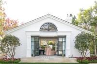 Garden House with Sliding Doors - Transitional - Garden