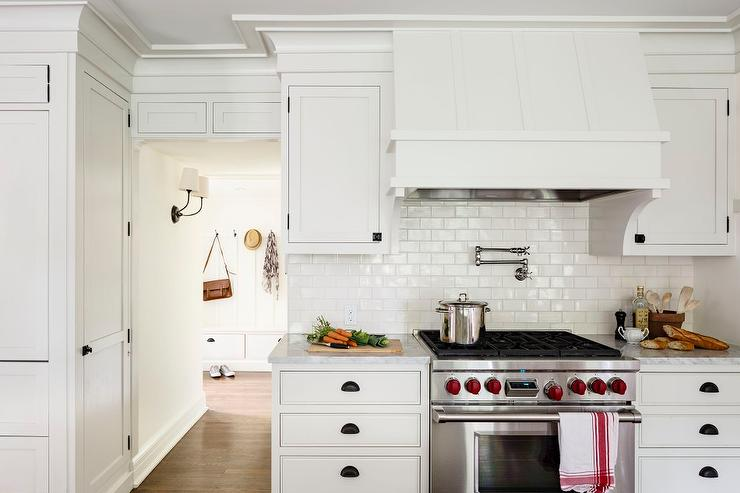 kitchen white glazed mini subway tile backsplash transitional kitchen subway tile backsplash classic sweetest digs