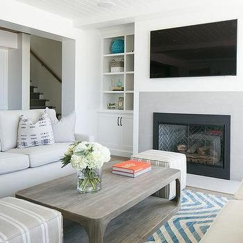 Living Room With 2 Sofas Design Ideas