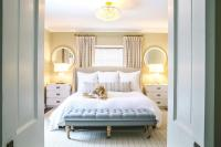 Beds in Front of Window - Contemporary - bedroom - Greg Natale