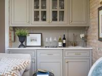 Grey Living Room Cabinet