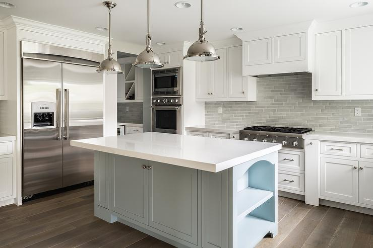 arrow keys view kitchens swipe photo view kitchens white kitchen cabinet glass metal backsplash tile backsplash