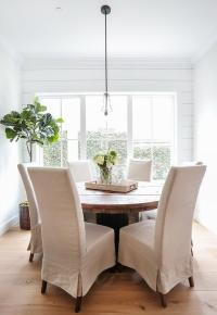 Linen Dining Chairs Design Ideas
