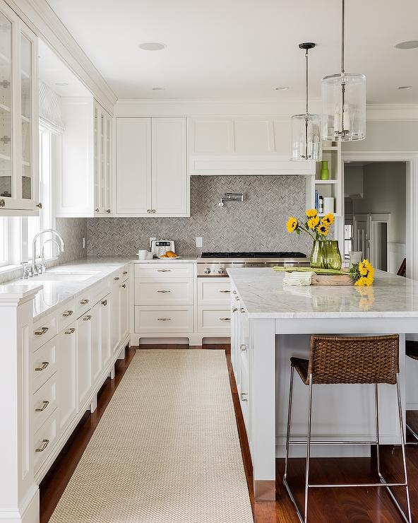 amazing kitchen features white shaker cabinets paired white white cabinets grey backsplash kitchen subway tile outlet