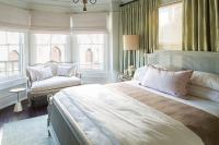 Bedroom Bay Window Sofa - Transitional - Bedroom