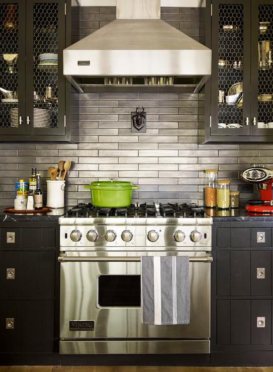 cabinets stainless steel backsplash contemporary kitchen stainless steel subway tile kitchen backsplash large stainless