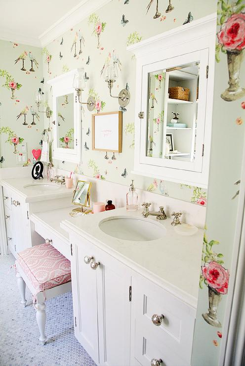 Pinterest Girls Kids Rooms With Wood Wallpaper Pink Shabby Chic Kids Room Transitional Girl S Room