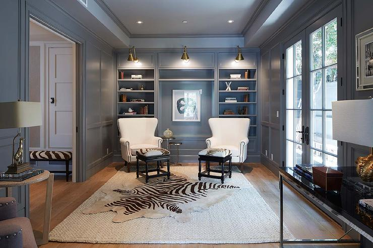 Paneled Library Design Ideas