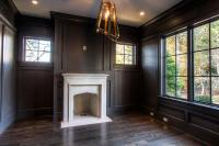 Wood Paneled Den Design Ideas