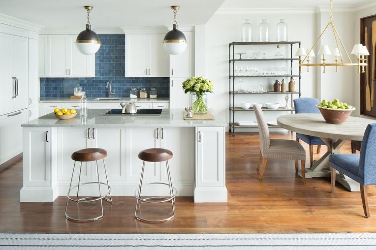 white kitchen blue backsplash transitional kitchen white kitchen cabinet glass metal backsplash tile backsplash
