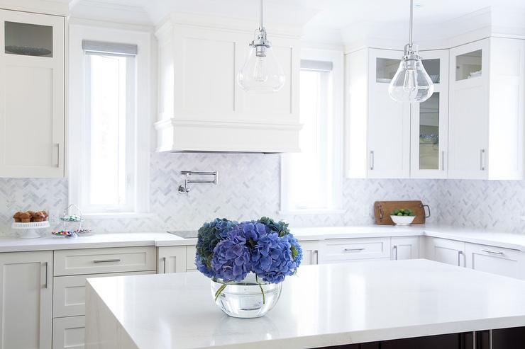 marble chevron kitchen backsplash tiles transitional kitchen white cabinets grey backsplash kitchen subway tile outlet