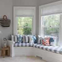 Curved Window Seat Design Ideas