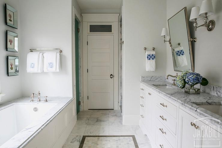 Long and Narrow Master Bathroom Ideas