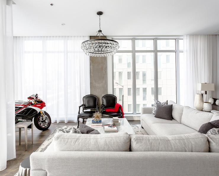 Black Marble Wallpaper Living Room With Ducati Motorcycle Contemporary Living