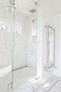 Ceiling of shower - to tile or not to tile?
