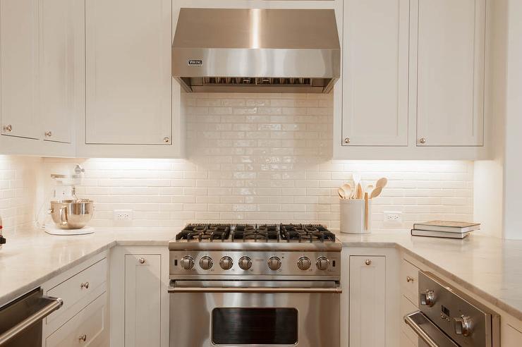 white glazed kitchen backsplash tiles transitional kitchen white kitchen cabinet glass metal backsplash tile backsplash