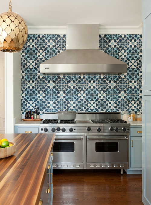 blue kitchen cabinets blue mosaic tile backsplash contemporary kitchen backsplash ideas dark cabinets kitchen backsplash ideas