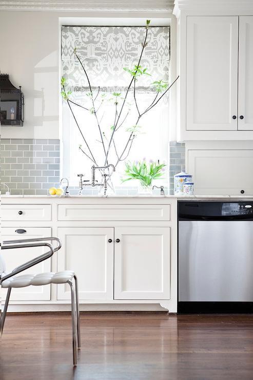white kitchen tiled gray subway tile backsplash white kitchen cabinet glass metal backsplash tile backsplash