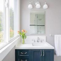 Navy Blue Bathroom Design Ideas