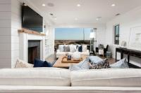 Oceanfront Living Room with Folding Glass Patio Doors ...