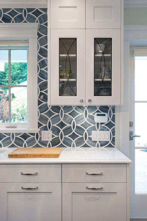 view kitchens kitchen rich brown cabinetry mosaic tile backsplash hgtv