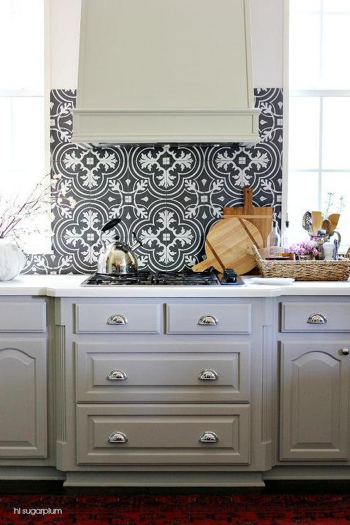 white countertops black white mosaic tile backsplash merola white cabinets grey backsplash kitchen subway tile outlet