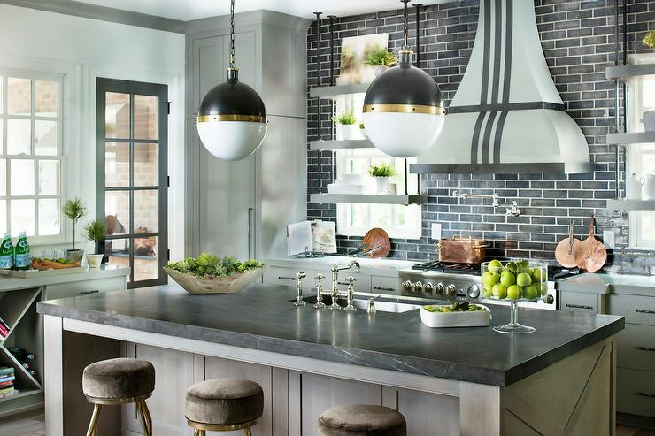 kitchen brick stone backsplash tile kitchen backsplash ideas elegant brick backsplash kitchen presented soft colors