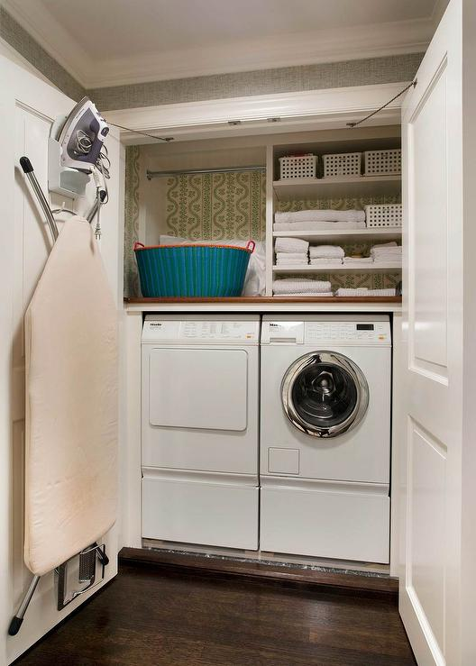 Ikea Wood Countertop Laundry Room Closet Design Ideas