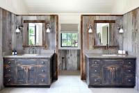Wood Bathroom Shelf Design Ideas