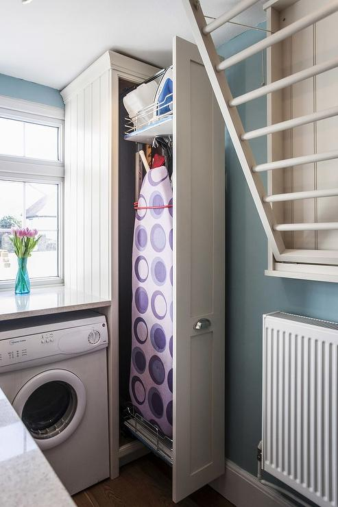 Hwr Schrank Laundry Room Ironing Board - Transitional - Laundry Room