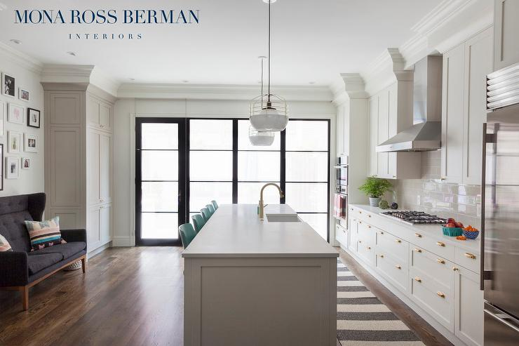 view kitchens white kitchen cabinet glass metal backsplash tile backsplash