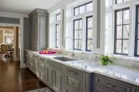 Kitchen Sink Window Sill Topiary Design Ideas