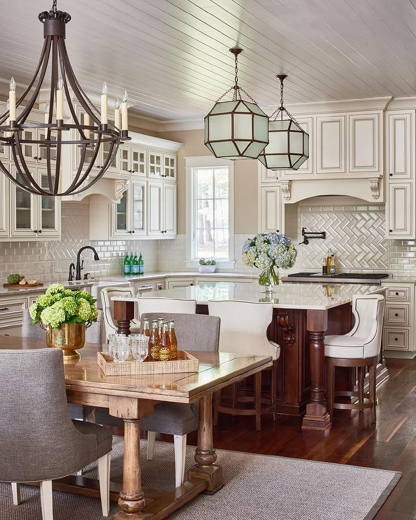 white marble countertops cream subway tiled backsplash backsplash tiles kitchens joy studio design gallery