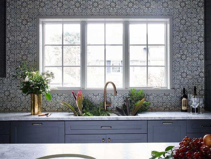 gray mosaic tiled backsplash ceiling wonderful mosaic kitchen backsplashes