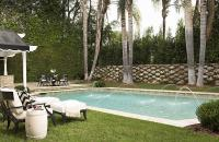 In Ground Pool with Fountains - Transitional - Pool
