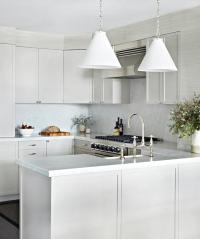 Kitchen Carrera Marble Backsplash Design Ideas - Page 1