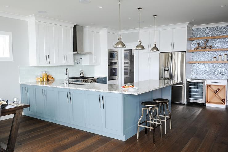 light blue glass tile backsplash white blue kitchen light light blue subway tile backsplash backsplash