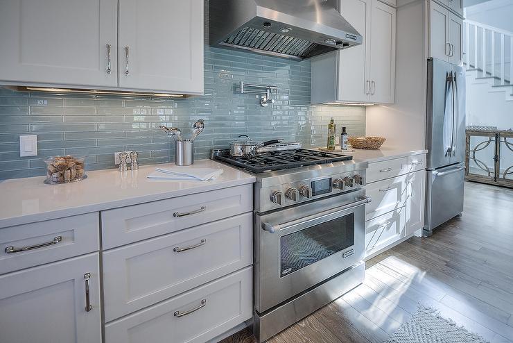 house kitchen linear glass backsplash tiles cottage kitchen kitchen tile backsplash ideas black white glass tile