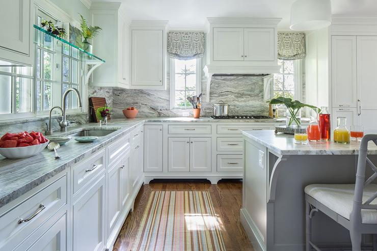 Ideas For Lighting Over Kitchen Island Kitchen Vent Hood Hidden Behind Cabinets - Transitional