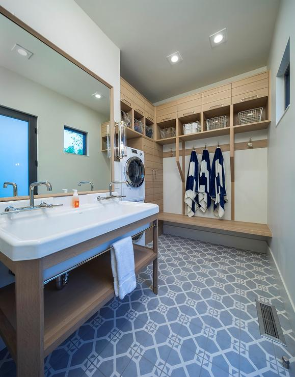 Laundry Room Lighting Laundry Room And Pool Room Combo - Cottage - Laundry Room